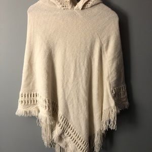 Boho Shawl | off white | M/L |